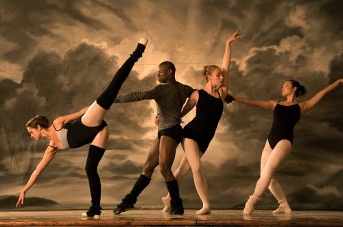 StreetDance 3D - the dancers in a posh London ballet school resent   the arrival of a street dance crew in the teen dance musical
