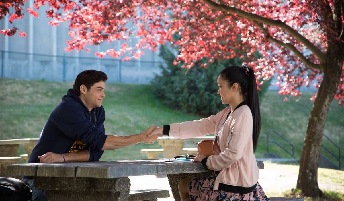 Noah Centineo and Lana Condor in All The Boys I Loved Before