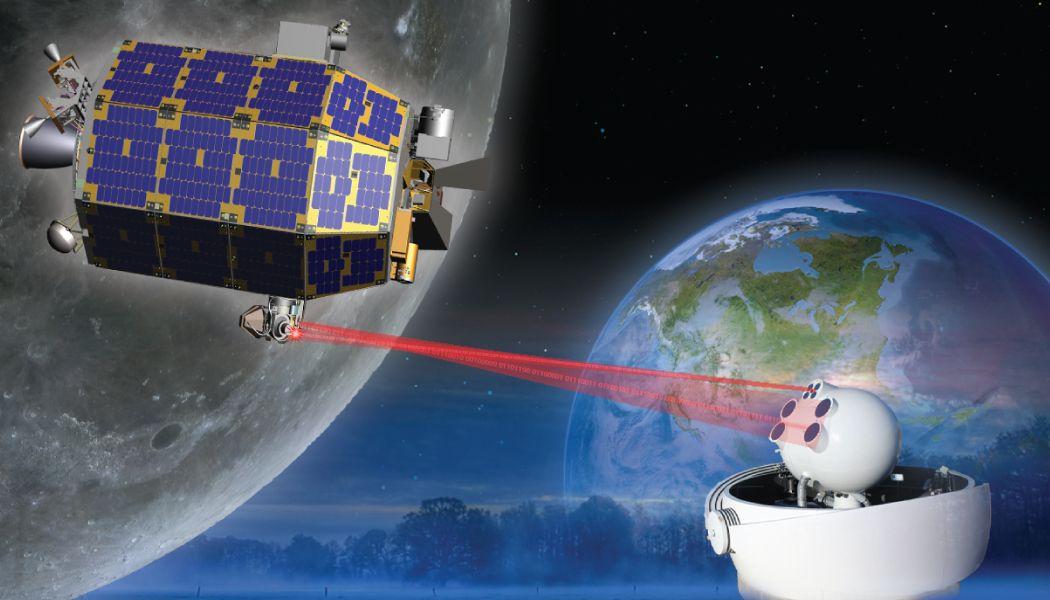 Zap! NASA Laser Breaks Space Communications Record