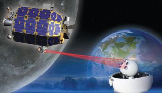LADEE Moon Probe's Laser Communications Experiment