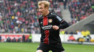 Julian Brandt Bayer Leverkusen Liverpool Juventus