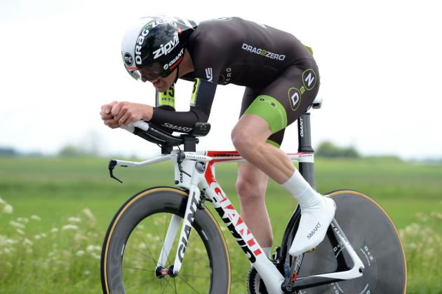 Matt Bottrill, 2nd, National 25-mile time trial championships 2013