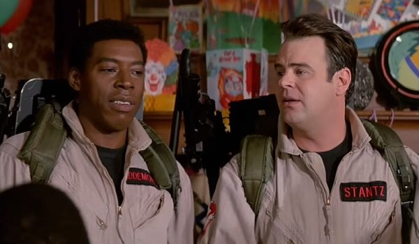 Winston and Ray Ernie Hudson Dan Aykroyd Ghostbusters 2