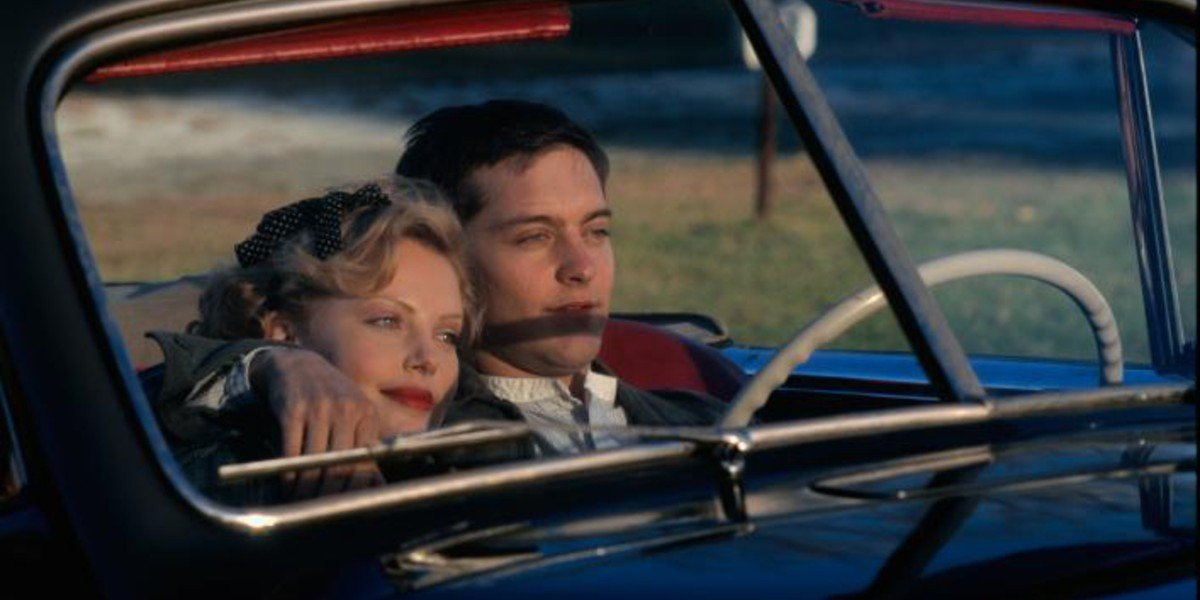 Tobey Maguire in Cider House Rules