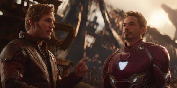 Star-Lord Iron Man Chris Pratty Robert Downey Jr Avengers Infinity War