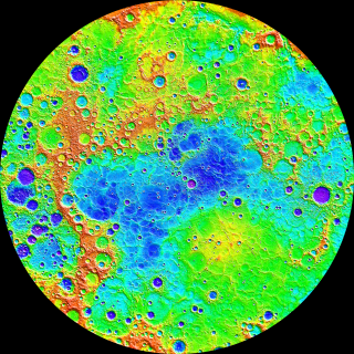 Mercury's topography