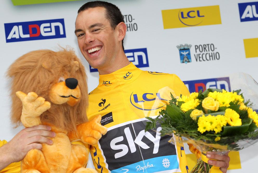 Podium Lion Tour De France