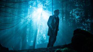 "Aidan Gillen returns in the second season of ""Project Blue Book,"" as UFO investigator Dr. J. Allen Hynek."