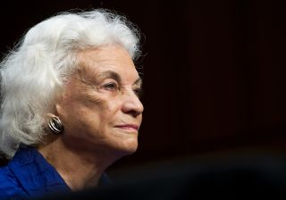 Former U.S. Supreme Court Justice Sandra Day O'Connor
