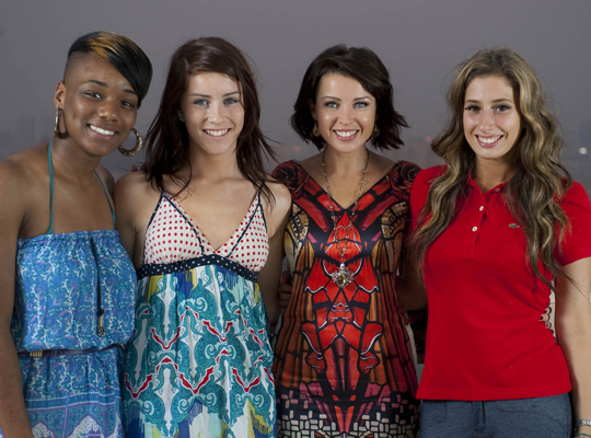 Meet the 12 finalists in The X Factor 2009 - beginning with the girls, mentored by Dannii Minogue