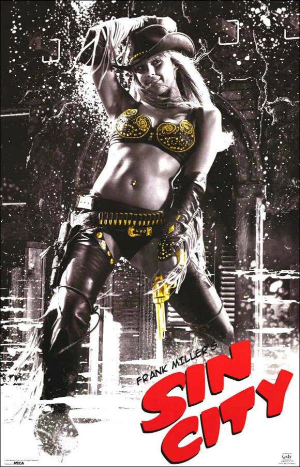 Sin City Jessica Alba Poster