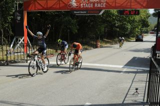 Skylar Schneider wins stage 1 of the Joe Martin Stage Race