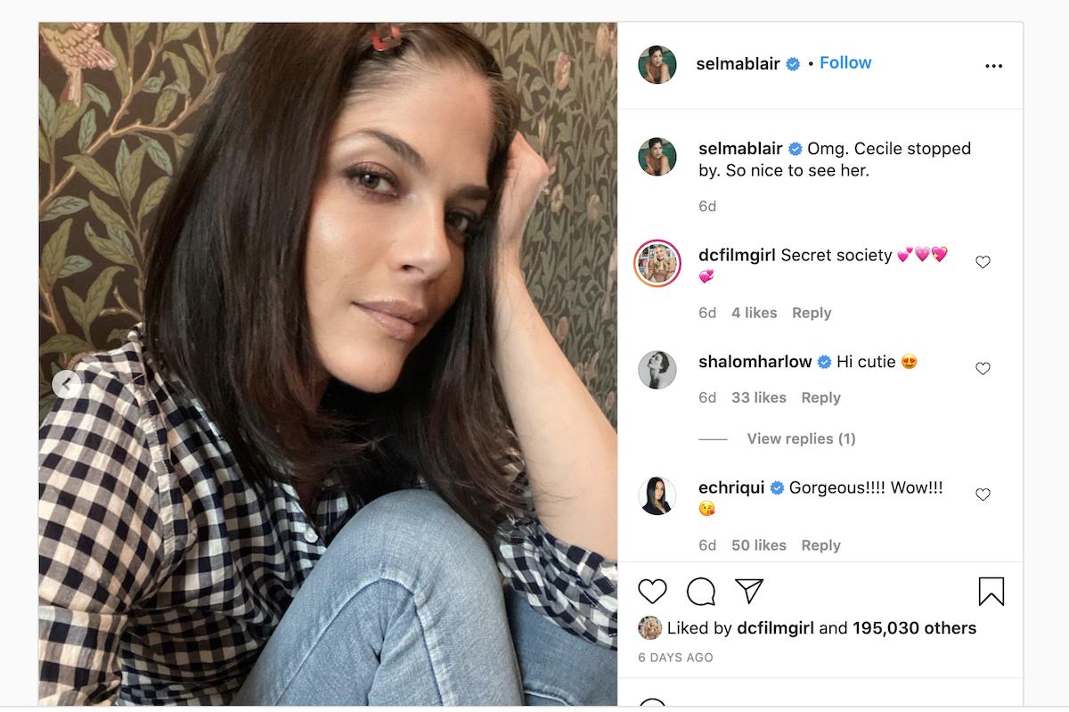 Selma Blair on Instagram