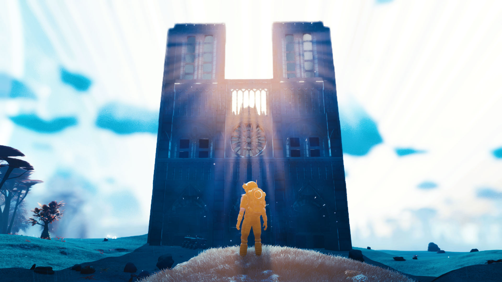 Check out this stunning No Man's Sky recreation of Notre Dame