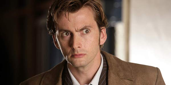 David Tennant as the Tenth Doctor in Doctor Who