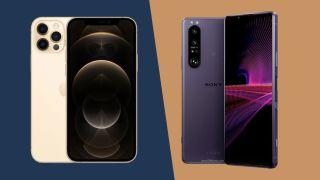 Sony Xperia 1 III vs iPhone 12 Pro Max