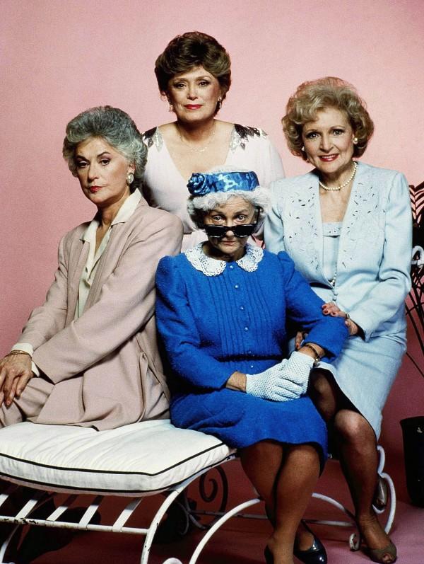 Golden Girls stars Bea Arthur, Rue McClanahan, Betty White and Estelle Getty