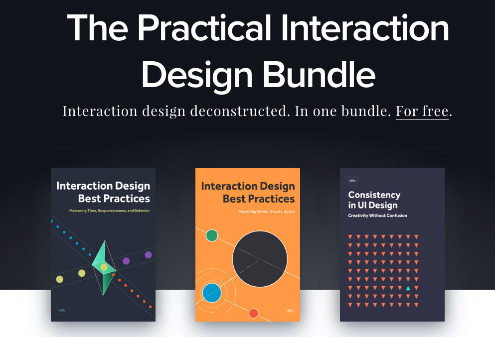Free ebooks for designers: The Practical Interaction Design Bundle