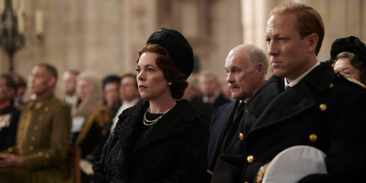 Olivia Colman and Tobias Menzies on The Crown