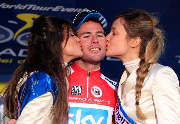 Mark Cavendish, Tirreno-Adriatico 2012, stage two