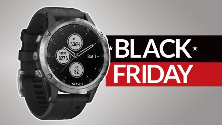 Save £100 on the Garmin Fenix 5 Plus with this Very Black