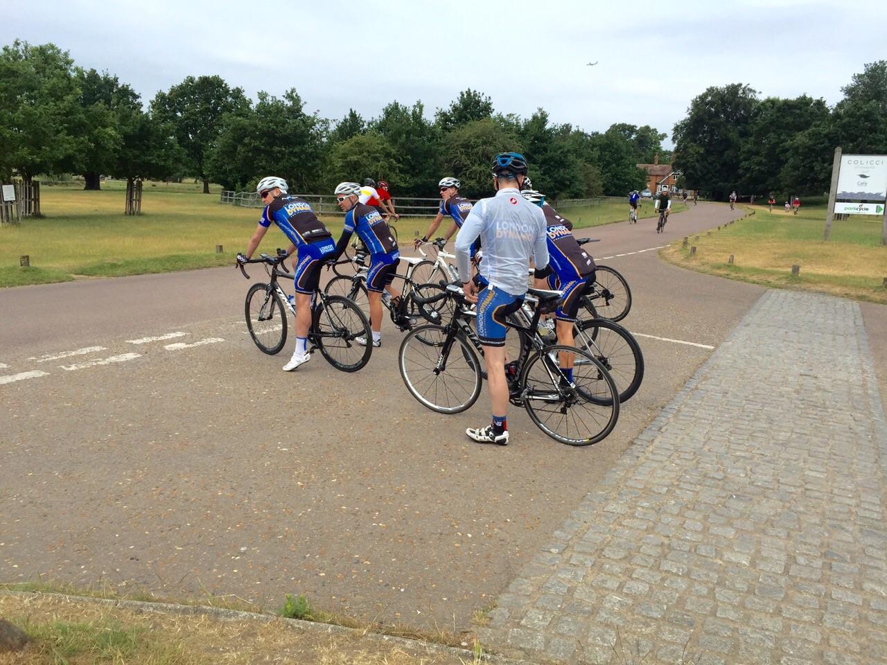 richmond park cycling gradient