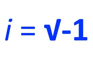 imaginary numbers, formula
