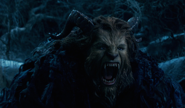 Beauty and the Beast The Beast roaring