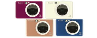 Canon ZV-123 instant camera guns for the instax market
