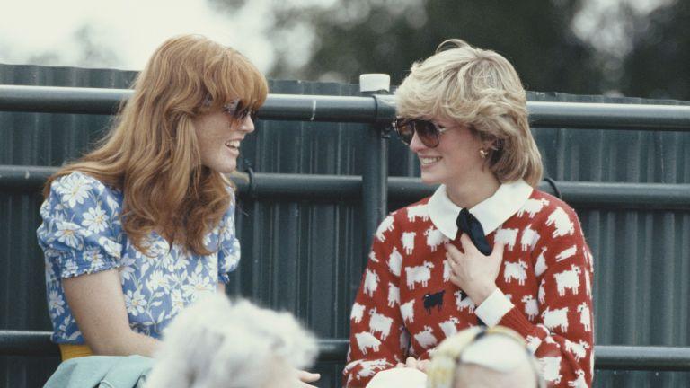 Princess Diana and Sarah Ferguson