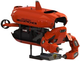 In its ROV mode, Aquanaut has two arms for doing work.