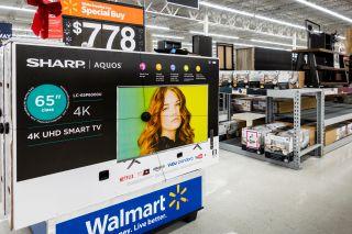 Walmart TVs on sale