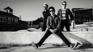 A promotional image of Green Day