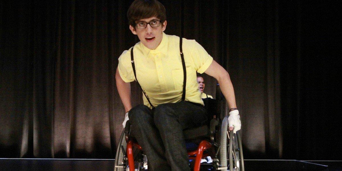 Kevin Mchale as Artie in Glee