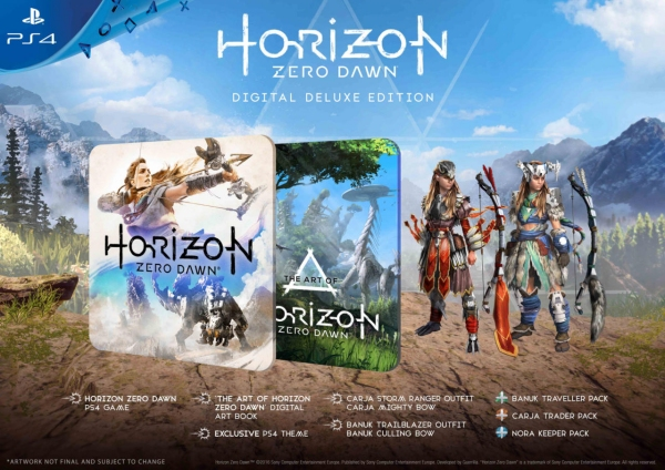 Horizon: Zero Dawn Digital Deluxe Edition