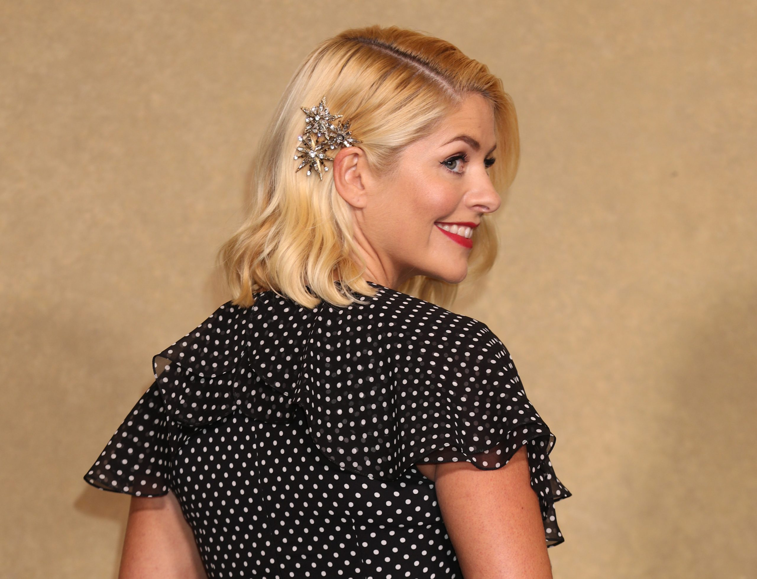 Holly Willoughby wore a gorgeous polka dot dress on This Morning and it's still available to buy
