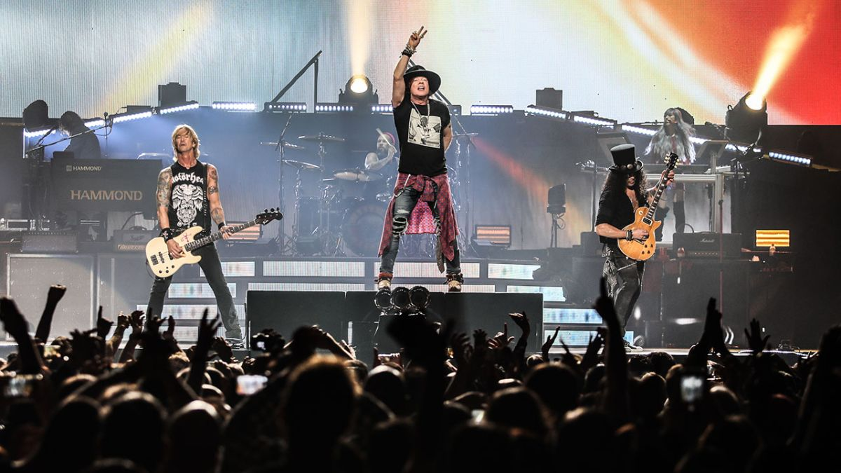 Slash on new Guns N' Roses album: There's material, there's recording and there's s*** going on