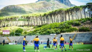 Kaizer Chiefs players training
