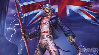 Iron Maiden Metal Hammer cover