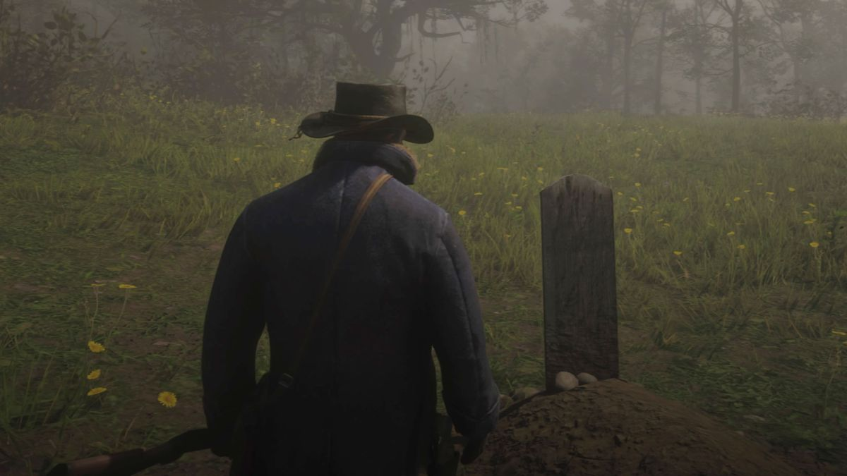 Red Dead Redemption 2 Grave locations - where to pay respects to your fallen companions