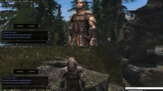 How to play Skyrim in local split-screen co-op