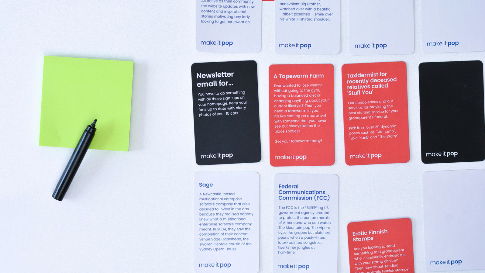 Creative card game will improve your design thinking