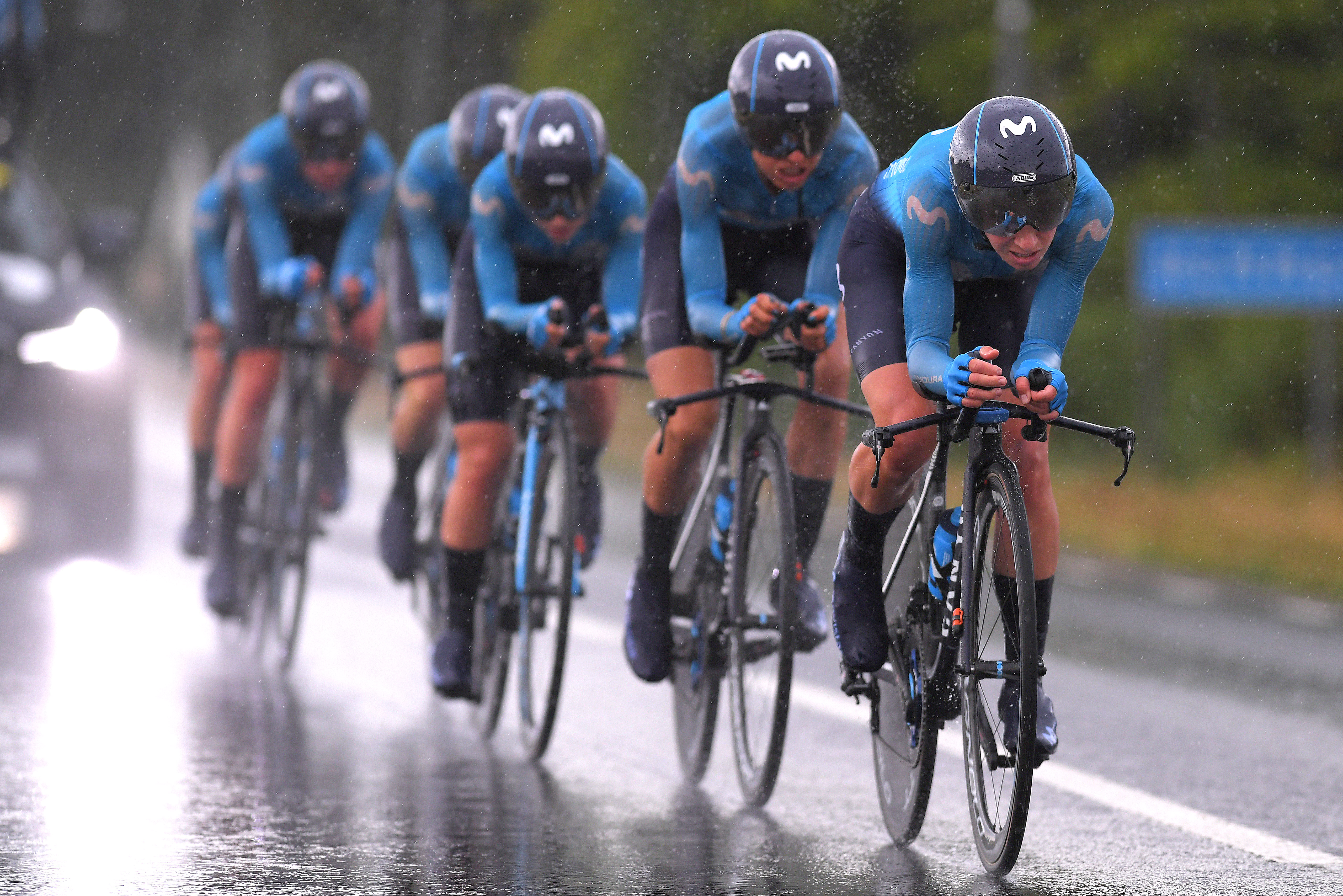 Movistar joins the race to become a sustainable and green cycling team - Cycling Weekly