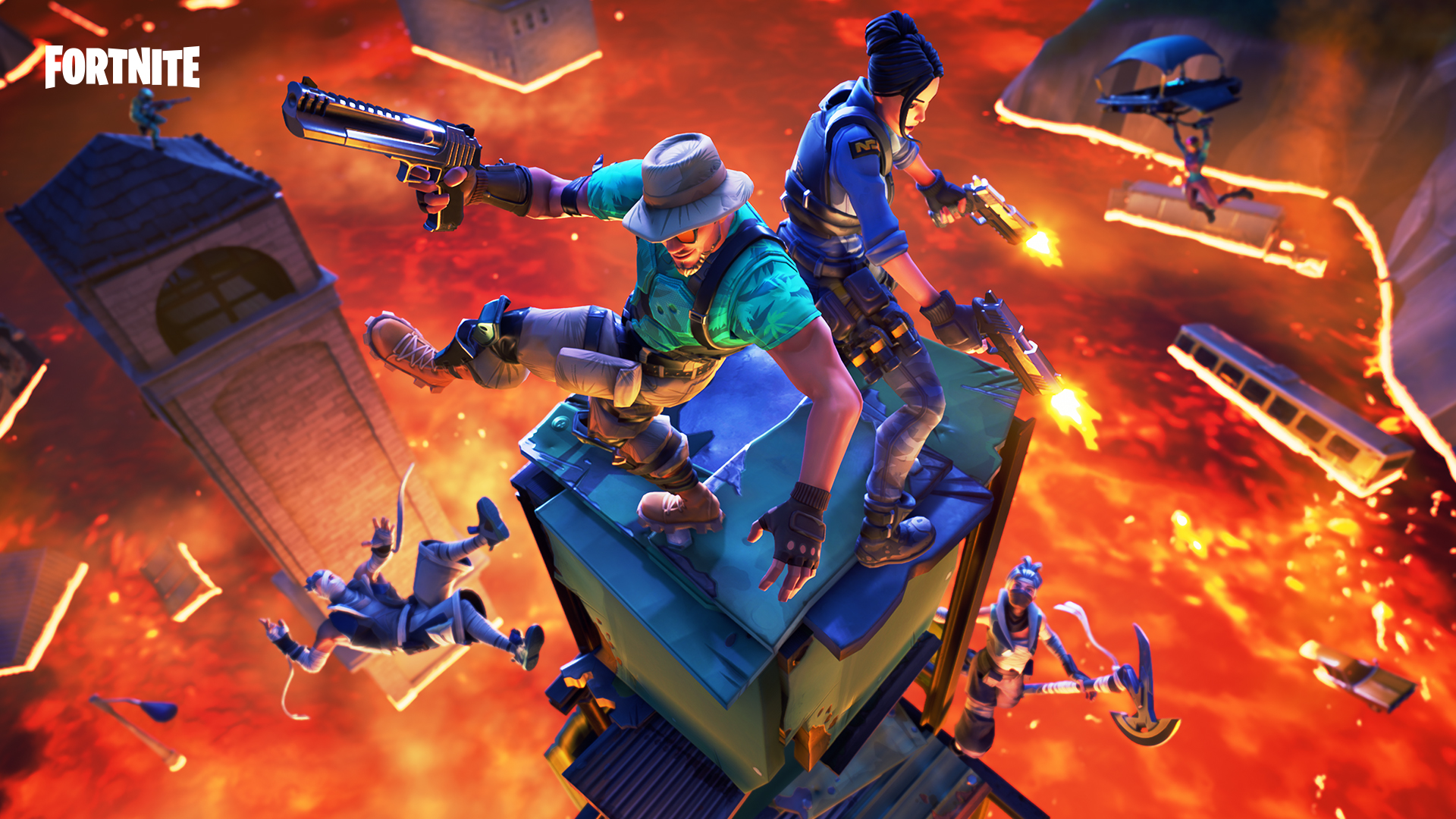 Fortnite update 8 20 adds ranked Arena mode and a Floor is