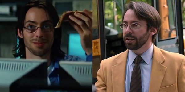 Martin Starr in The Incredible Hulk and Spider-Man: Homecoming
