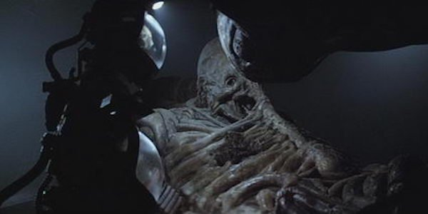 Alien dead engineer