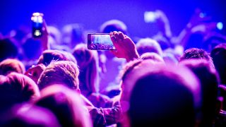 Phones at gigs: Good or bad?
