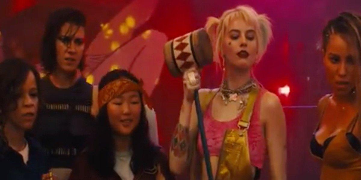 New Birds Of Prey Poster Debuts Harley Quinn S Pet Hyena Cinemablend