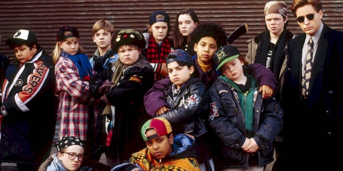 The Mighty Ducks team in Disney 1992 film