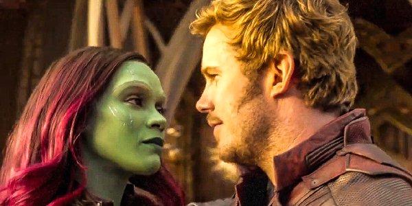 Zoe Saldana Gamora Chris Pratt Star-Lord Peter Quill Guardians of the Galaxy Vol. 2 Marvel MCU